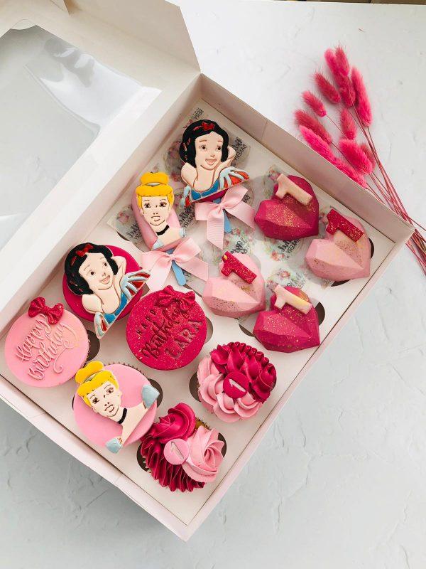 Bespoke Cupcakes Pink Barbie